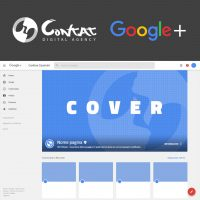 cover personalizzata google plus business local
