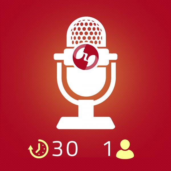 Spot Audio 30 secondi a 1 voce 1