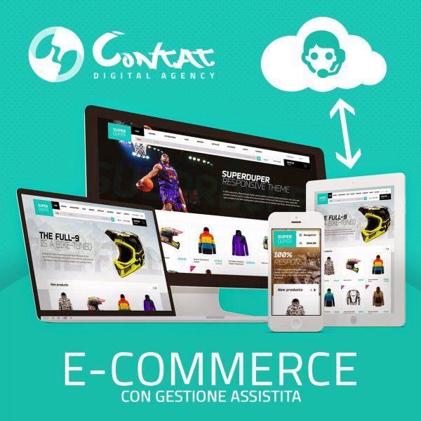 Sito e-commerce con gestione assistita 1