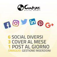 """Gestione social """"Giornaliera"""" 7"""