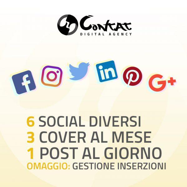 """Gestione social """"Giornaliera"""" 1"""