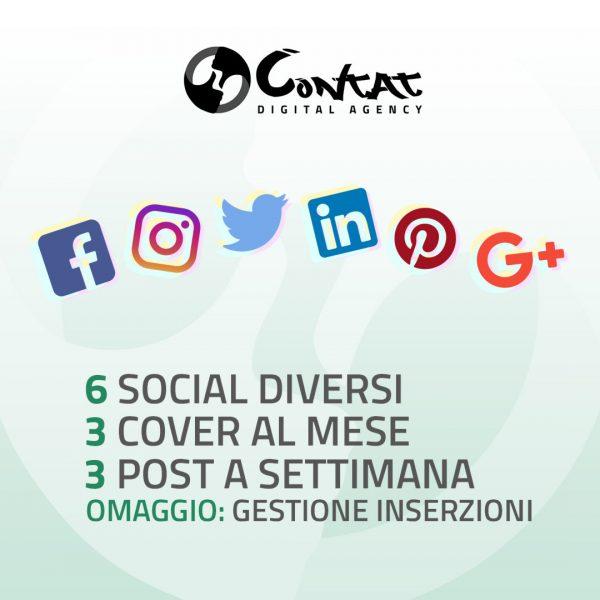 """Gestione social """"Completa"""" 1"""