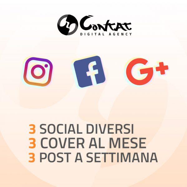 "Gestione social ""Standard"" 1"
