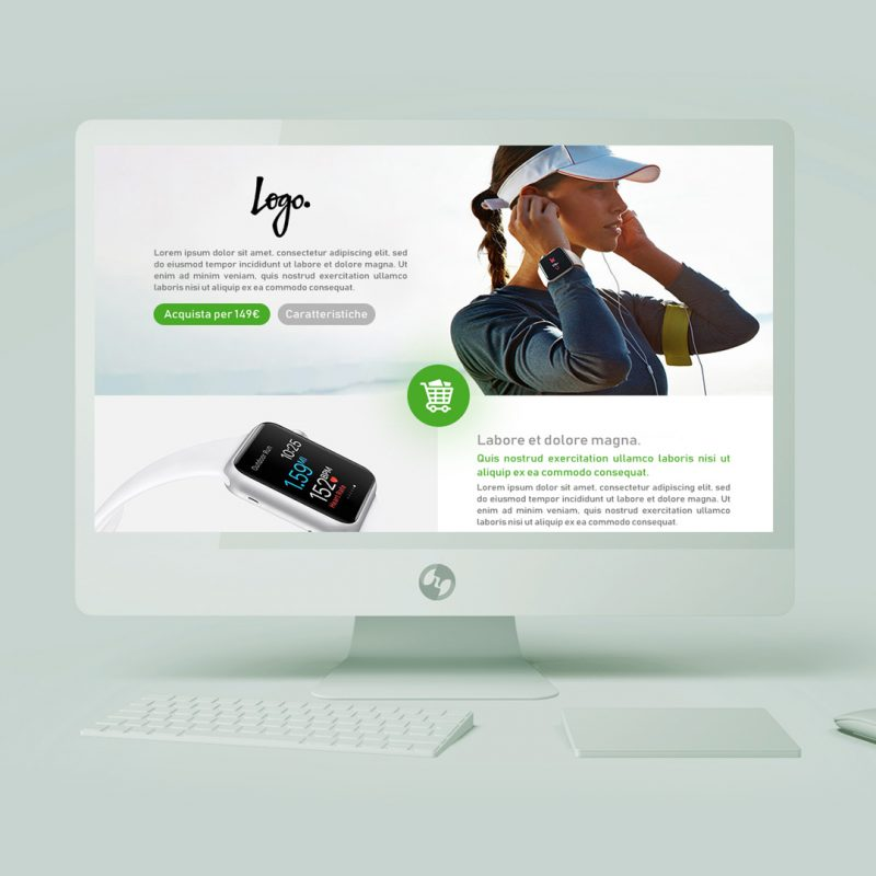 Landing Page E-commerce 3