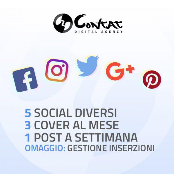 """Gestione social """"Basic"""" 1"""