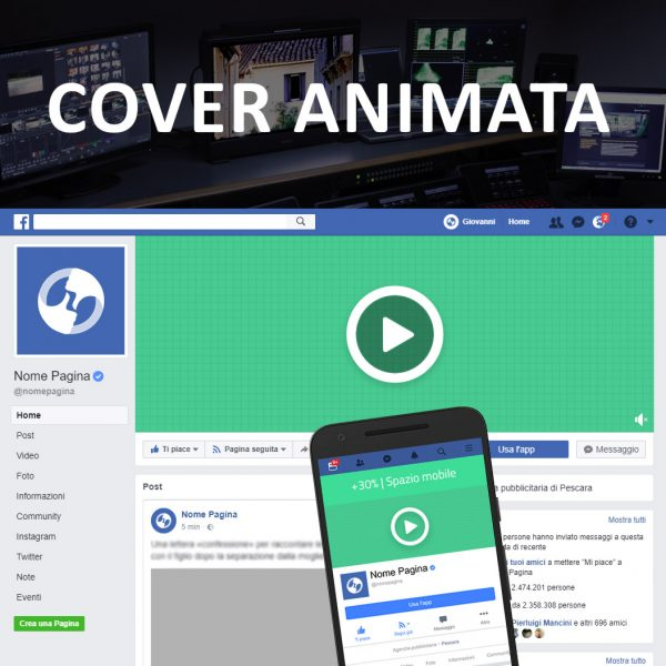 Cover animata per facebook 1