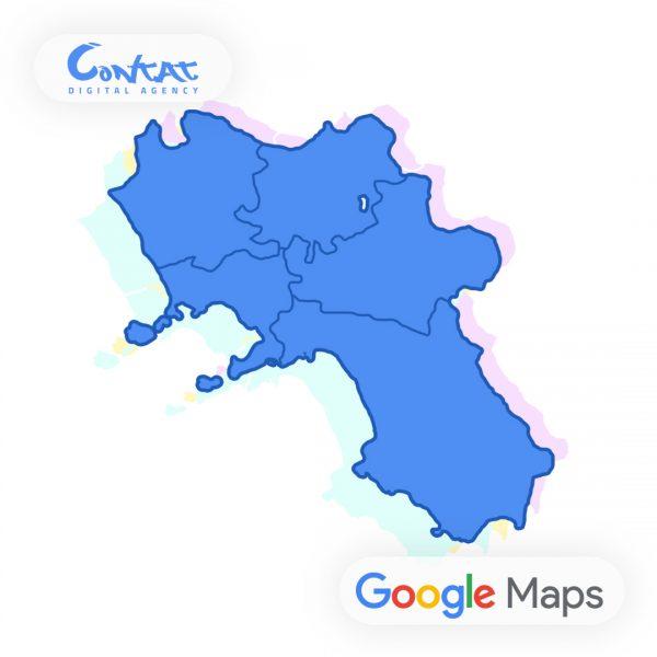 Virtual Tour Google Maps Street View in Campania: Avellino, Benevento, Caserta, Napoli e Salerno 1